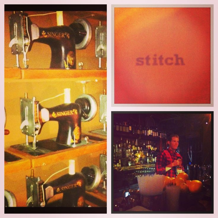 Stitch Bar - 61 York Street.  'Finally – there's somewhere cool to drink in Wynyard. Yes, you read that correctly' Time Out - Sydney  www.stichbar.com
