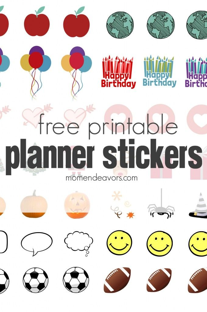 Children S Calendar With Stickers : Best images about agenda cole on pinterest free