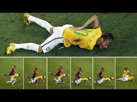 Un gran fraude - La lesion de Neymar