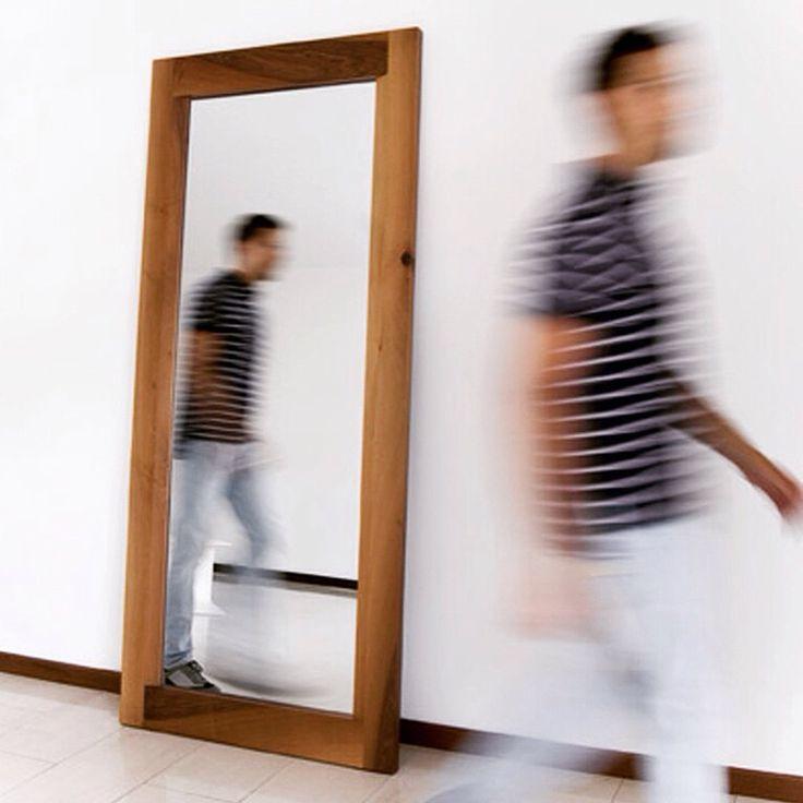 TT architects 1974 details' mirror project walnut custom mirror