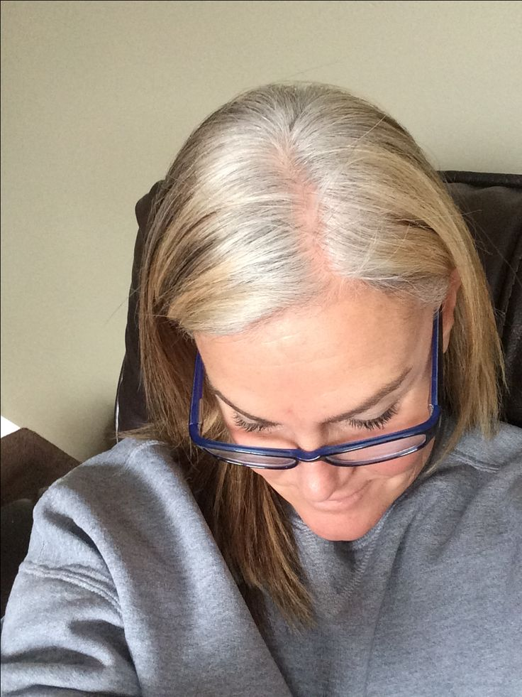 Pin on Transition to gray hair
