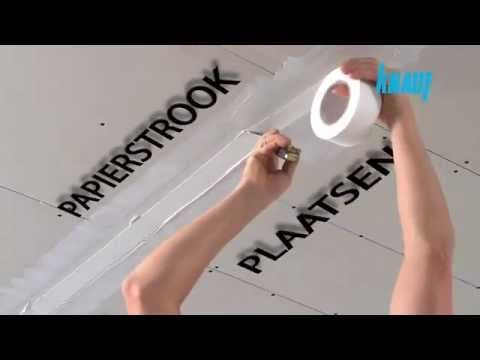 ▶ Verlaagd plafond plaatsen - YouTube