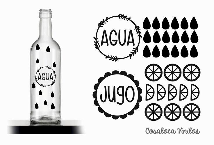 Decorar De Manera Original Una Botella De Cristal Con Tiza