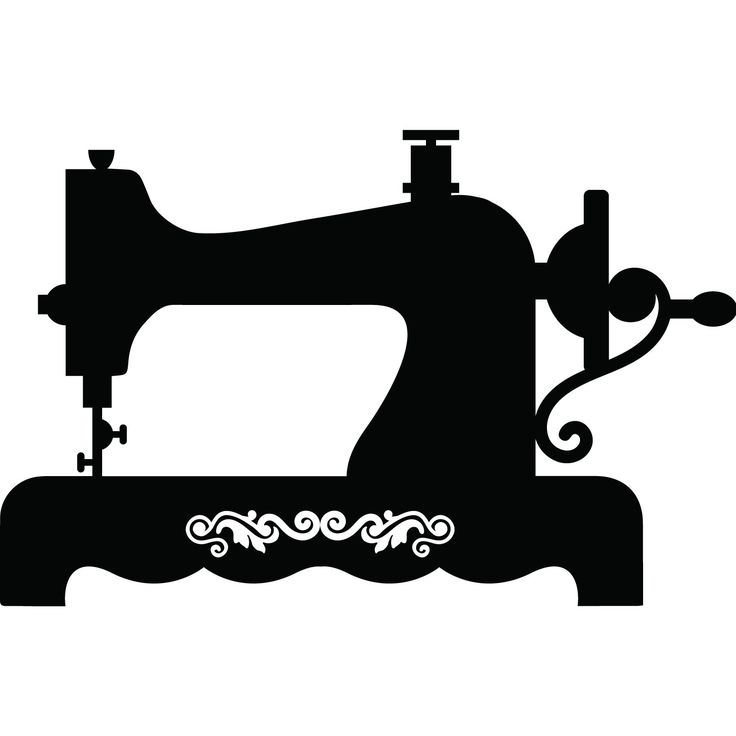 картинки вектор швейная машина подают