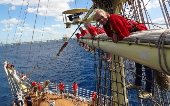 Class Afloat! Imagine your school is a majestic tall ship sailing to twenty ports on four continents!