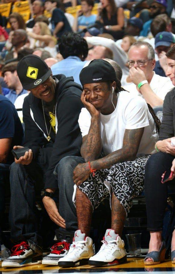 Celebrity Sneaker Watch: Lil' Wayne Wears
