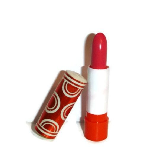 Mod 60s 70s Lipstick by TUSSY UNUSED Vintage 1960s Beauty