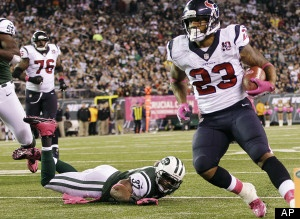 Texans hold off Jets..