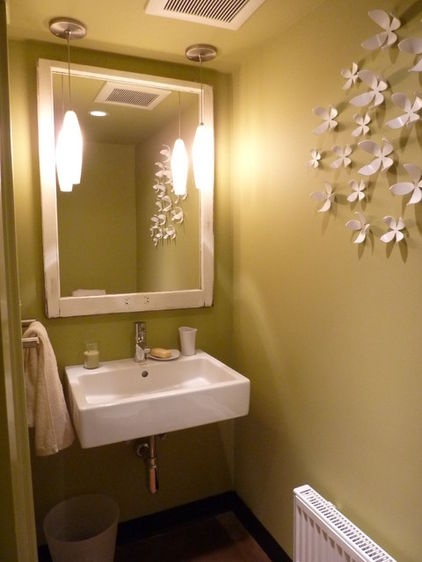modern powder room by Motionspace Architecture   Design