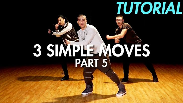 3 Simple Dance Moves for Beginners - Part 5 (Hip Hop Dance Moves Tutoria...