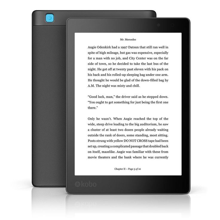 Kobo Aura ONE from Rakuten Kobo eReader Store ~ Funny enough, my B-Day is Aug. 30...the date to pre-order!!!