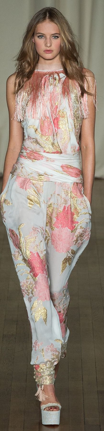 Marchesa Spring 2015 | The House of Beccaria#
