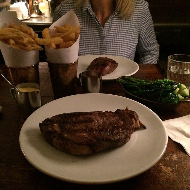 If you like steak, you have to go to Hawksmoor.  Hawksmoor in London, Greater London