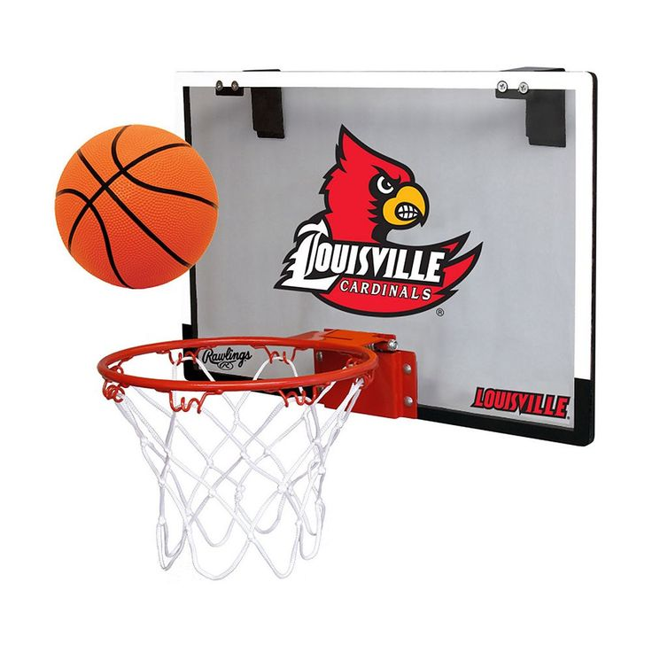 Louisville Cardinals Game On Hoop Set, Multicolor