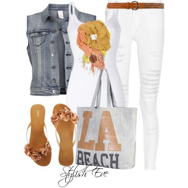 """""""LA Beach"""" by stylisheve on Polyvore"""