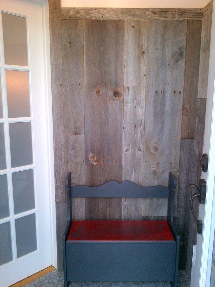 Mur Bois De Grange Gris : Gris p?le, verticales. Murs en bois de grange Pinterest