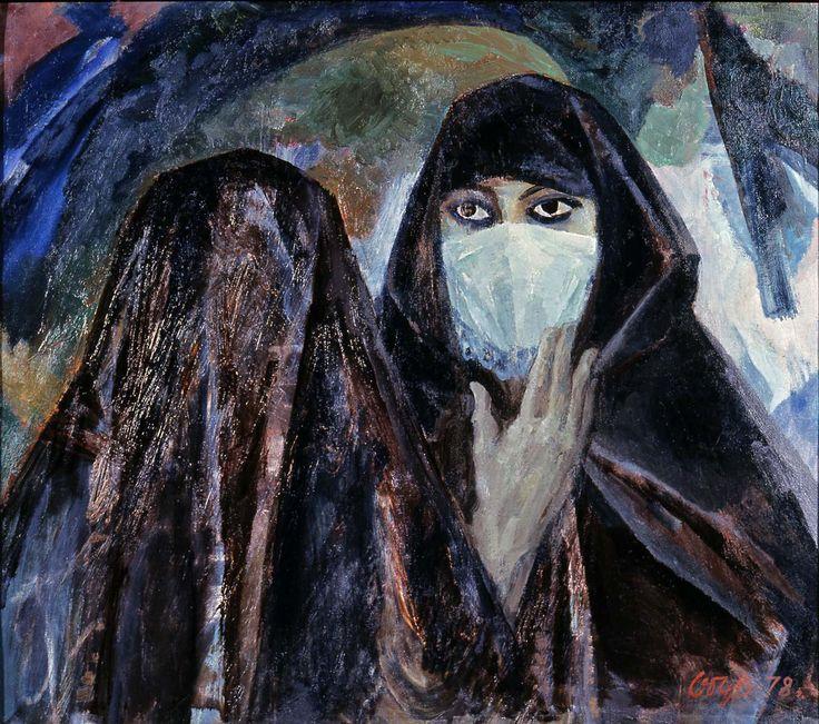 """Обх В.А. """"Женщины Алжира"""" 1978"""
