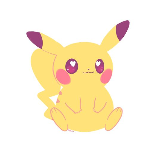 qt-milk: ピカー!I went to the Pokemon Center today!