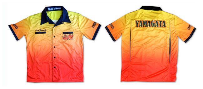 ボーリングシャツ、山形理容組合