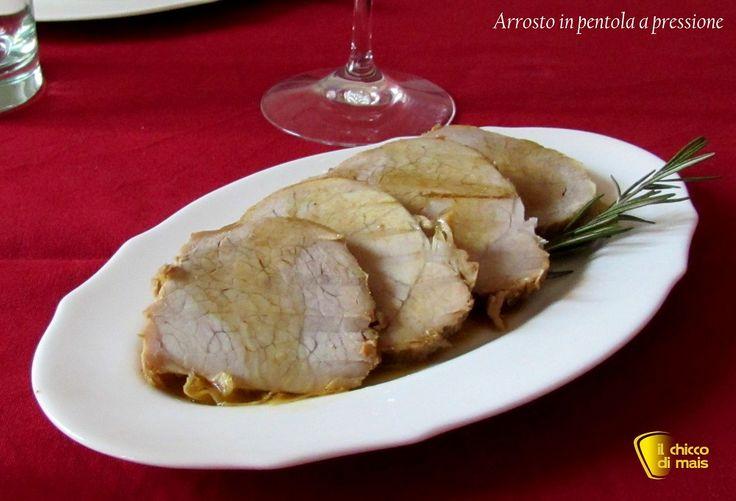 #Arrosto in pentola a pressione #ricetta #chiccodimais #recipe http://blog.giallozafferano.it/ilchiccodimais/arrosto-pentola-pressione-ricetta-veloce/