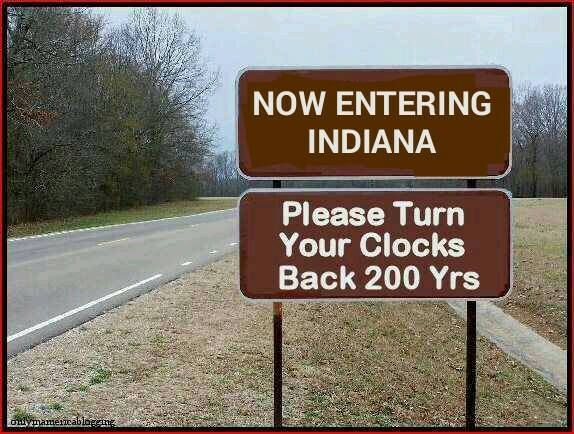 Image result for indiana hoosiers derogatory signs