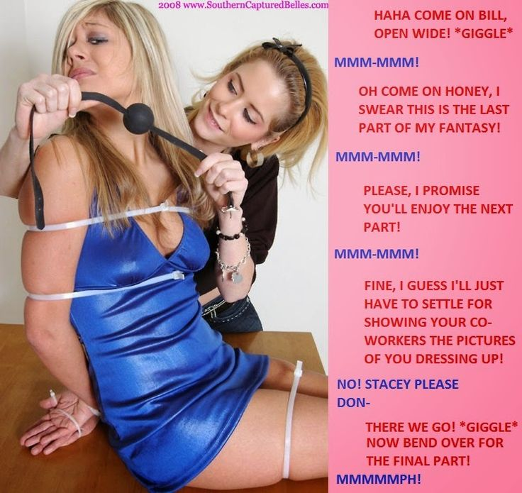 Crossdresser used by mistress