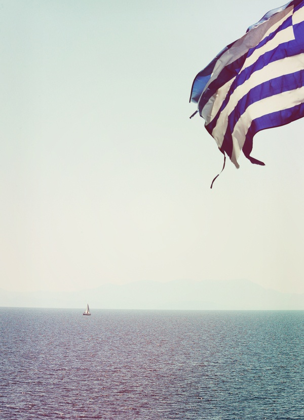 Greek Summer Skiathos Island by Nick Karvounis, via Behance