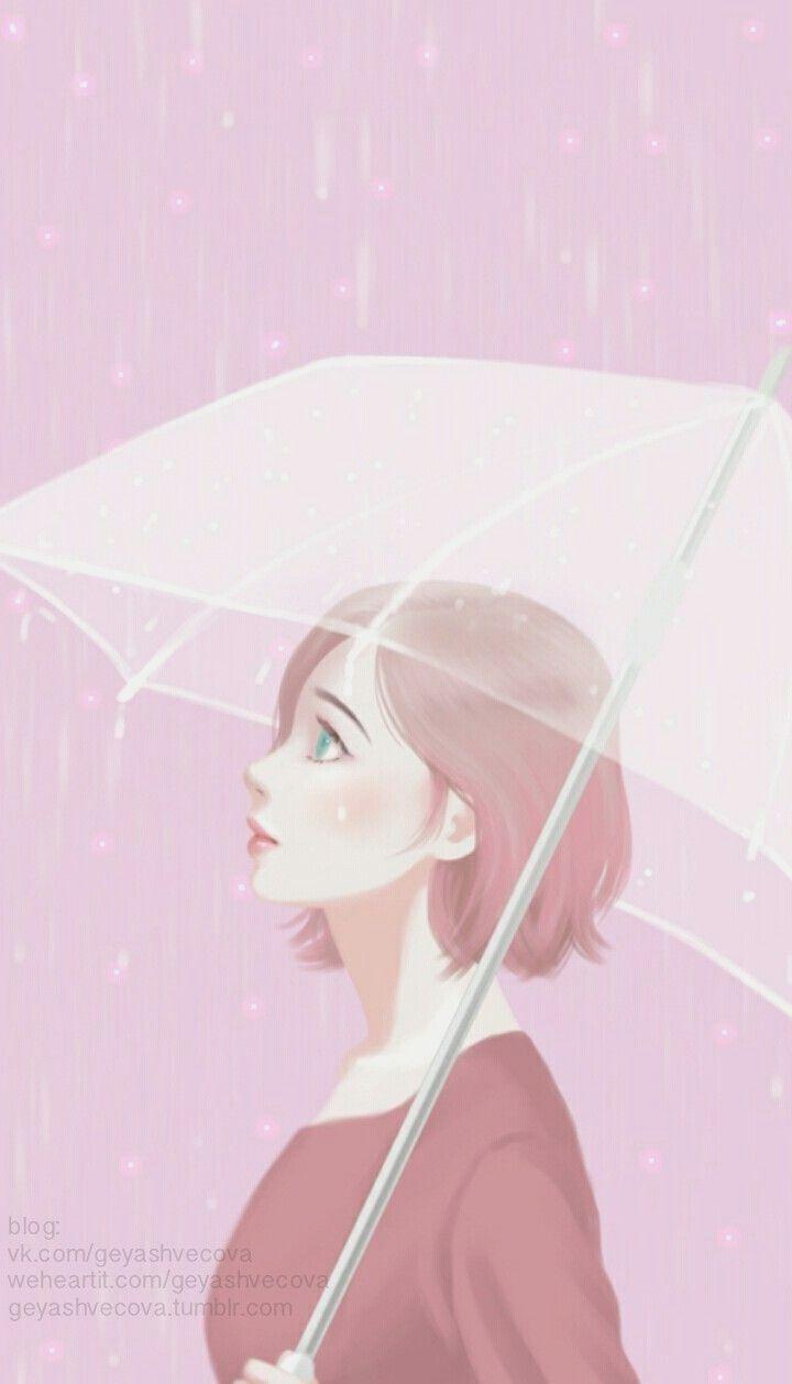 Cartoon Korean Cute Girl Hd Wallpapers Backgrounds In Korean Cartoon Wallpaper Di 2020 Gadis Animasi Ilustrasi Gambar