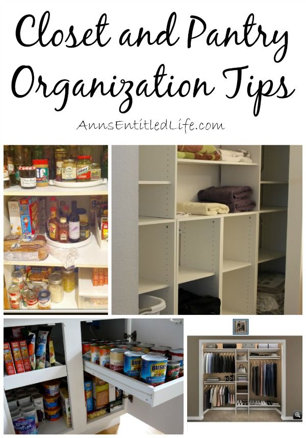 5 Tips For A Gorgeous And Organized Pantry: Closet And Pantry Organization Tips