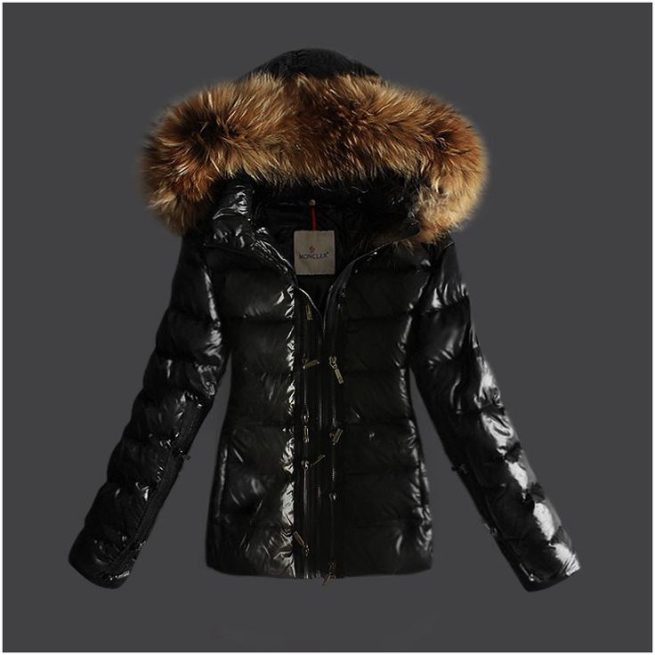 Winterjacke damen schwarz mit gurtel