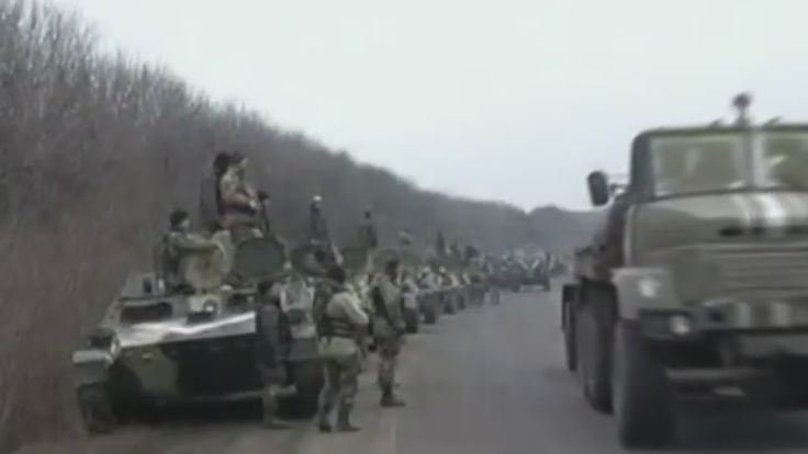 War in Ukraine/Donbass News 28 Feb 2015 Current Situation in Donbass