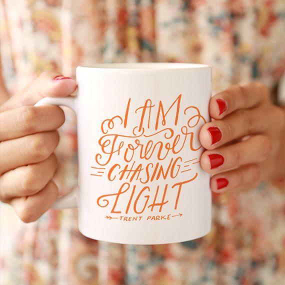 Forever Chasing Light Ceramic Mug