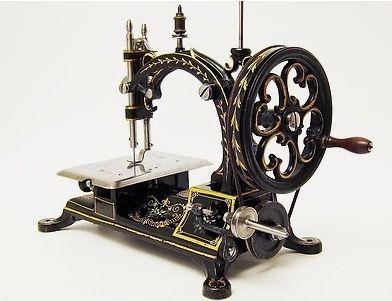 hurtu abeille antique sewing machine from france