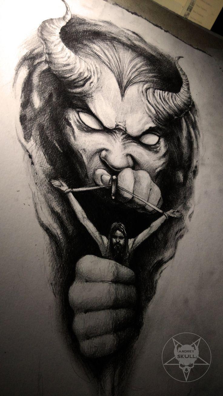 demon by AndreySkull.deviantart.com on @DeviantArt