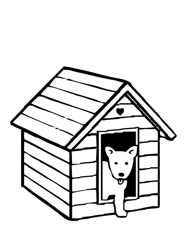 97 best awesome shapes coloring pages images on pinterest for Coloring pages of dog houses