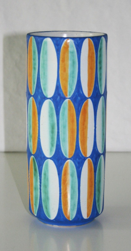 Kupittaan Savi Ceramic Pottery Vase, Made in Finland