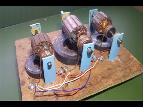 Universal Motors and Electric Rotor - How to Easy to implement work at h...