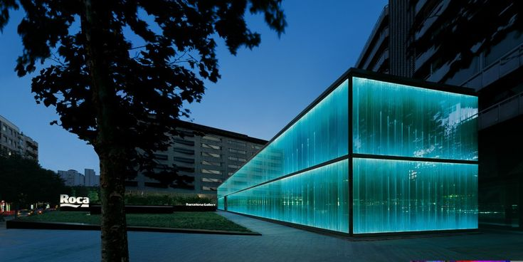 Roca Barcelona Gallery / OABArchitects, Offices, Barcelona Gallery, Roca Gallery, Lights Design, Modern Architecture, Buildings, Roca Barcelona, Barcelona Spain