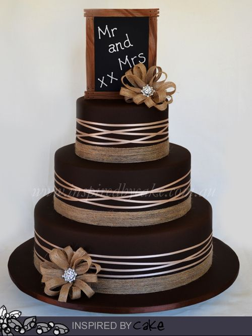 My Second Cake For The Week Was A Country Wedding Three Tiers Of