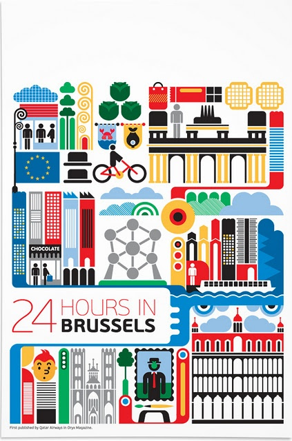 I get excited any time I see anything about Brussels.
