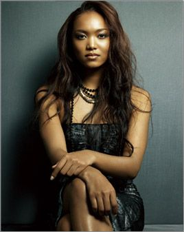 crystal kay.  One of my fav japanese singers,not only are you black  korean but you sing in Japanese  English.You go girl! :D