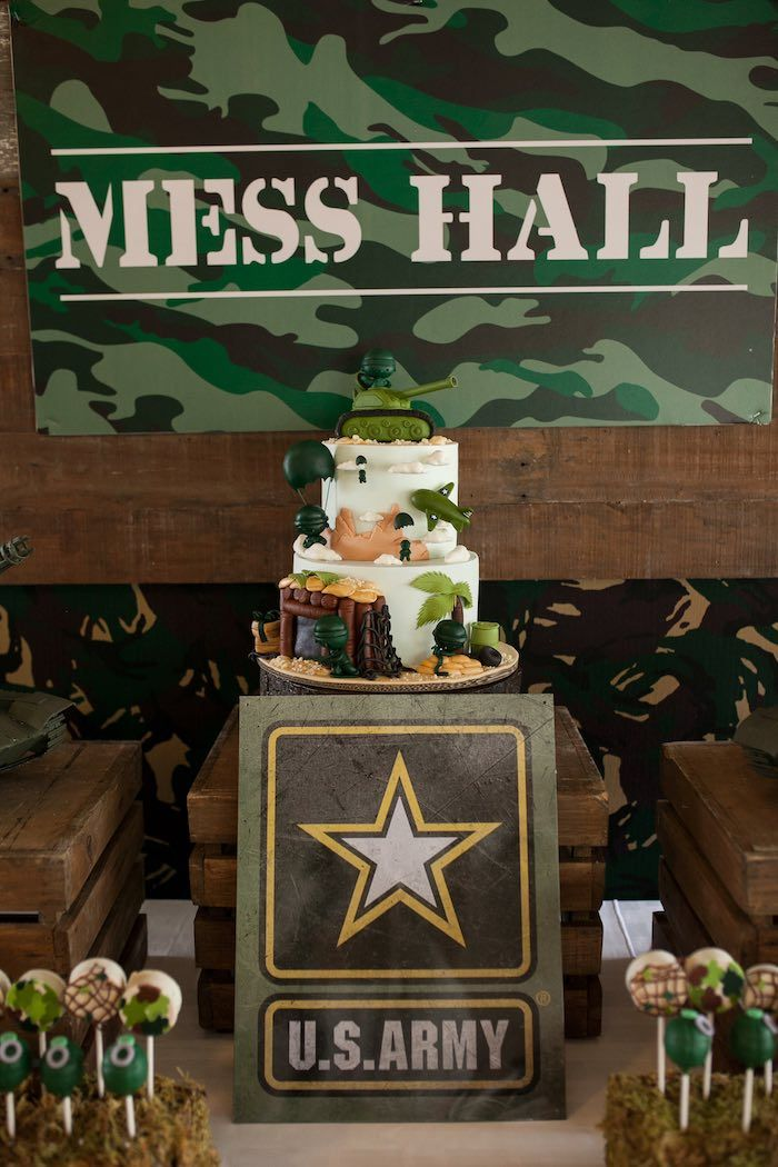 Army Birthday Cake Pictures
