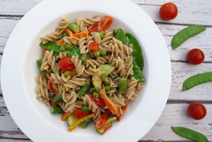 Creamy and delicious brown pasta - click on the image to get the recipe