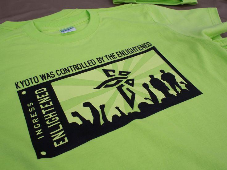 Ingress ENLチームTシャツ