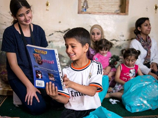 This Syrian refugee charity, supported by The Grommet, helps  underserved refugees by educating children, many of whom have missed years of school.