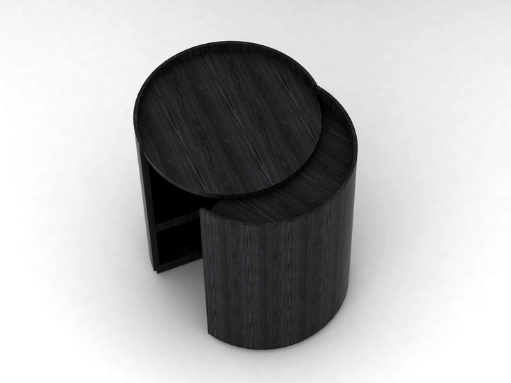 Contemporary Style Coffee Table Bedside Table Moon By