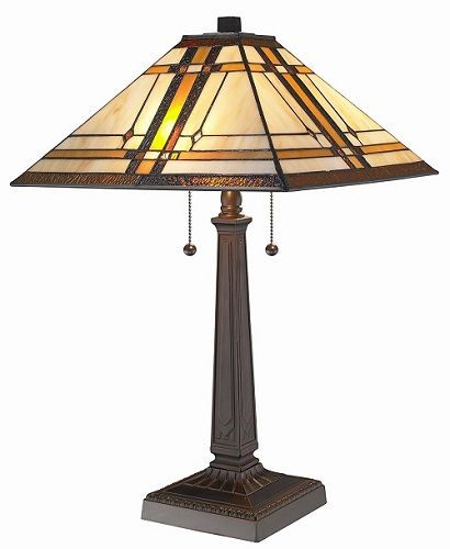 Cheap Table Lamps For Living Room | Tiffany Mission Table Lamp Review