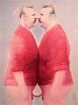 Siamesische Zwillinge (Bild: Manfred Deix)
