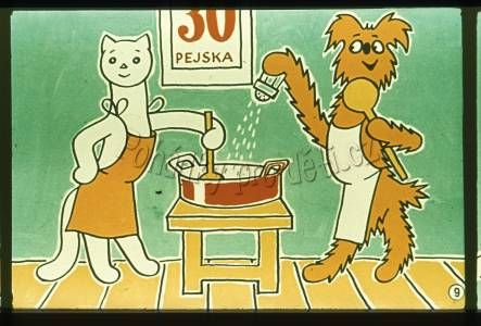 jak pejsek a kočička vařili dort - Hledat Googlem