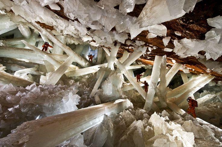 lugares cuevas de naica chihuahua mexico